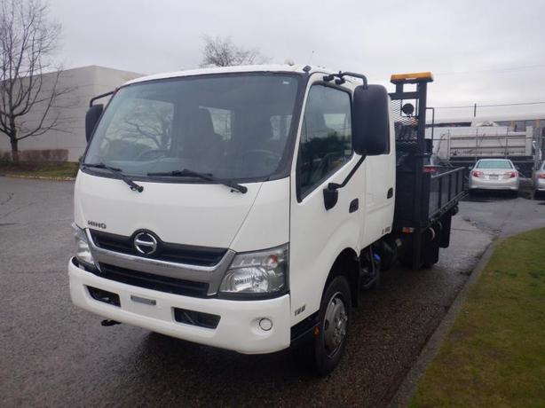 2014 Hino 195 12 Foot Flat Deck Crew Cab Diesel