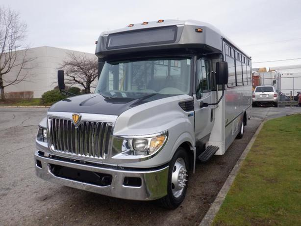 2013 International 3000 25 Passenger Bus Diesel with Wheelchair Accessibility