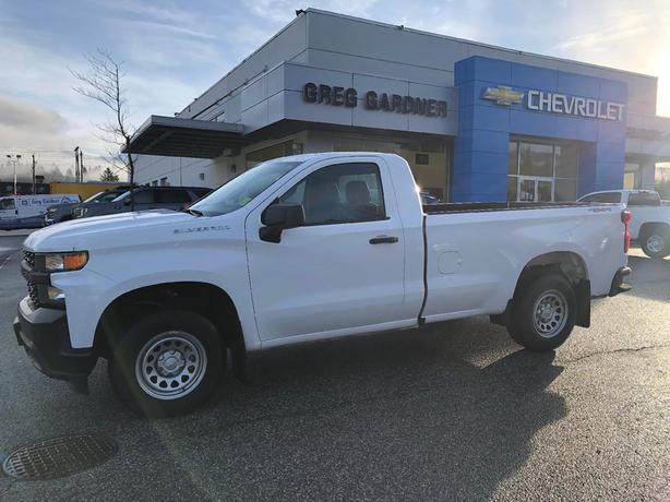 Used 2019 Chevrolet Silverado 1500 Work Truck
