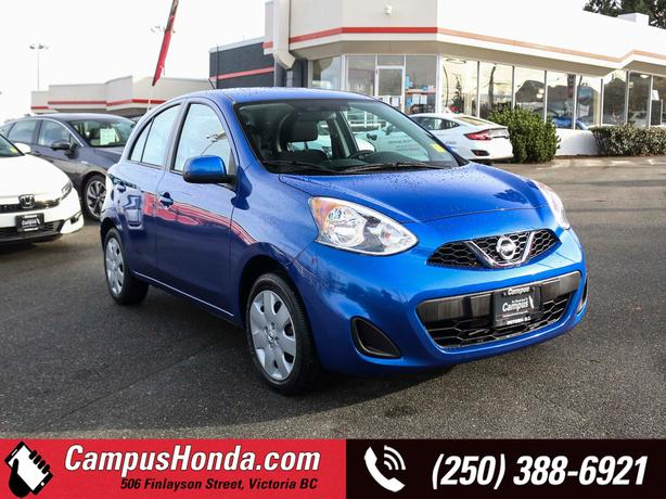 Used 2019 Nissan Micra S 4D Hatchback FWD 4-Speed Automatic Hatchback