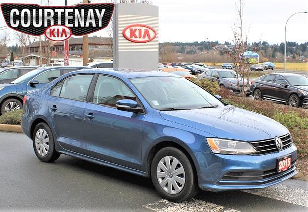 2015 Volkswagen Jetta 2.0L w/Bluetooth- Blue-