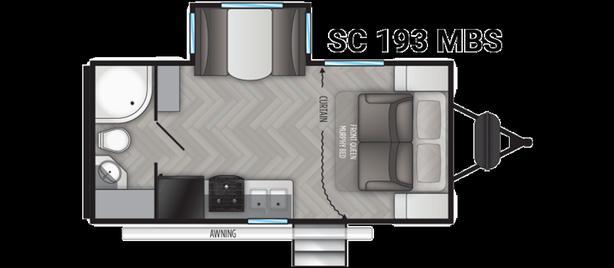 2021 Cruiser RV Shadow Cruiser 193MBS