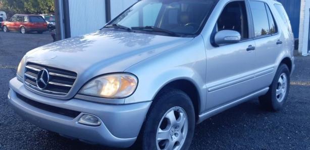 2002 Mercedes ML320 Black Creek Motors