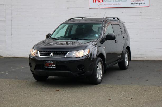 2007 Mitsubishi Outlander LS 4WD - LOCAL BC SUV - NO ACCIDENTS!