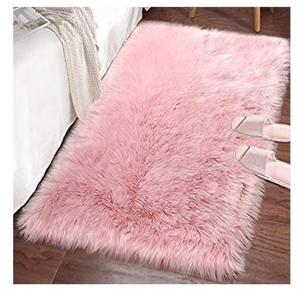 NEW 2x3 Foot Rug, Pink