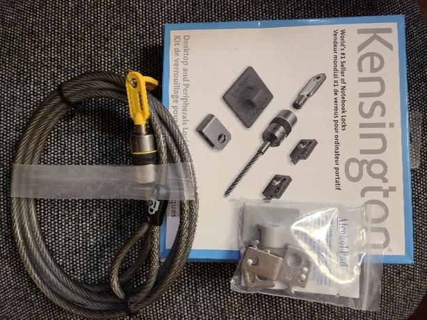 FREE: Kensington Laptop Lock Kit