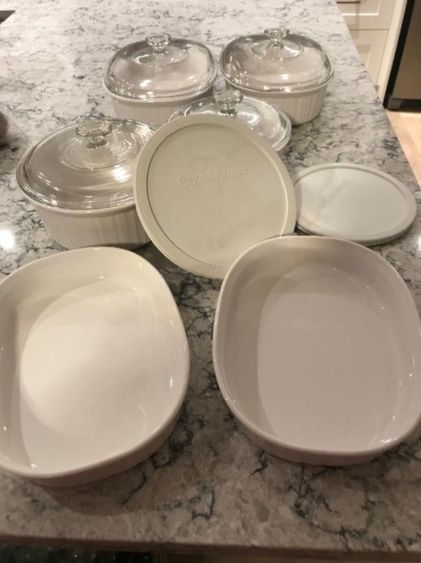 Corningware Oven Dishes