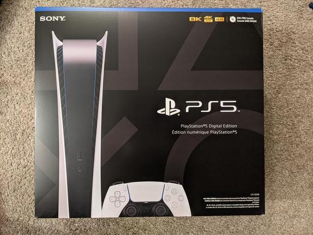 PS5 Digital Version - Brand new and Sealed