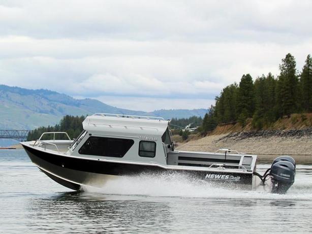 2021 Hewescraft Alaskan 270 AK ET HT