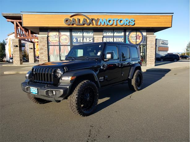 2020 Jeep Wrangler Unlimited SPORT - 4X4, Removable Top, Heated Front Seats