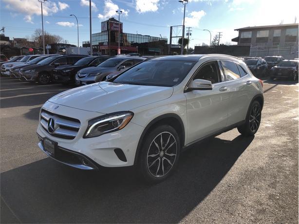 2016 Mercedes-Benz GLA PREMIUM/SPORT PACKAGE
