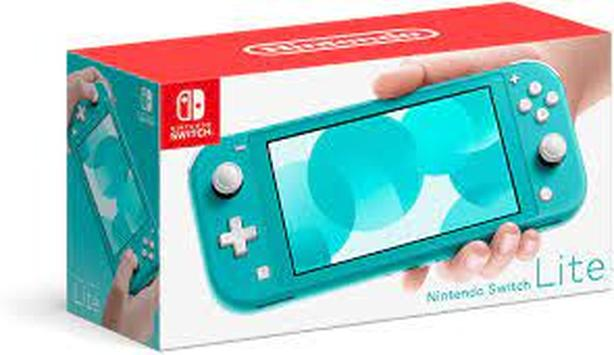 Nintendo Switch Lite Turquoise with Travel Case