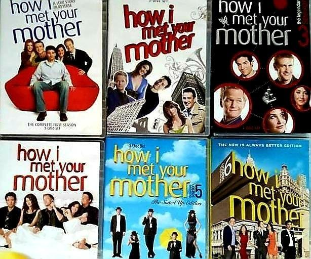 Set How I Met Your Mother DVD'S First 6 Seasons