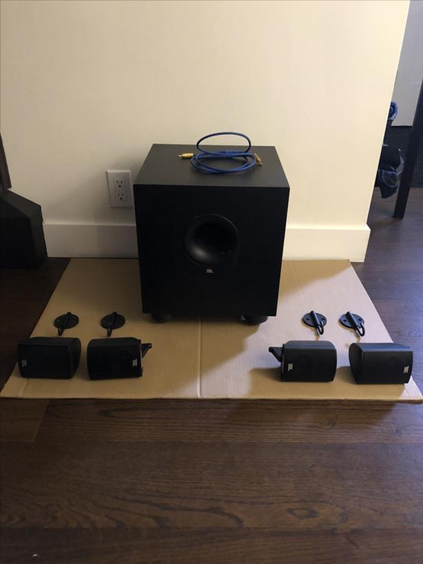 JBL Surround Speakers