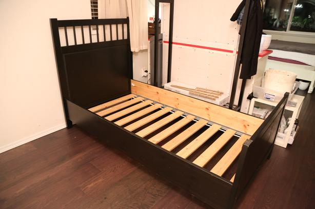 Can Deliver Like New Ikea HEMNES Twin Bed Frame