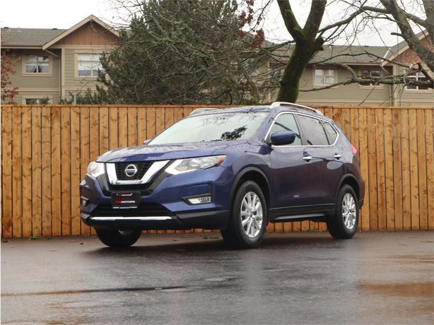 2018 NISSAN ROGUE SV AWD, 2.5L 4 Cylinder, Automatic - LOT'S OF OPTIONS!