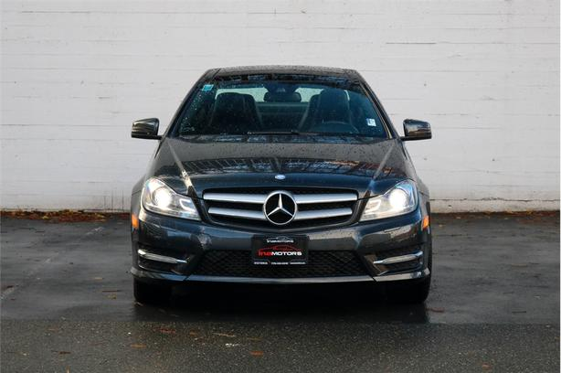 2013 MERCEDES C250 COUPE 1.8L 4 Cylinder, RWD, Automatic - LOCAL BC COUPE!