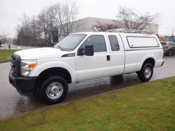 2014 Ford F-250 SD XL SuperCab Long Box  4WD Canopy Ladder Rack