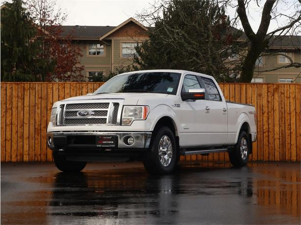 2012 FORD F-150 LARIAT 3.5L V6, 4X4, Automatic - ECOBOOST! - FULLY LOADED!