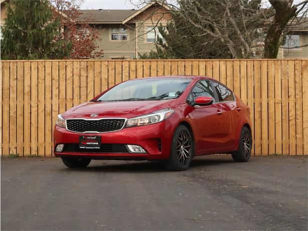 2017 KIA FORTE EX 2.0L 4 Cylinder, FWD, Automatic - LOCAL BC SEDAN!