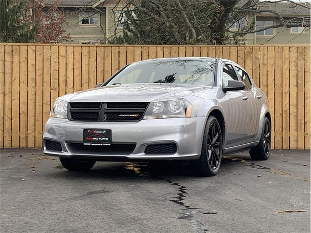 2013 Dodge Avenger 2.4L 4 Cylinder, FWD, Automatic - AIR CONDITIONING!