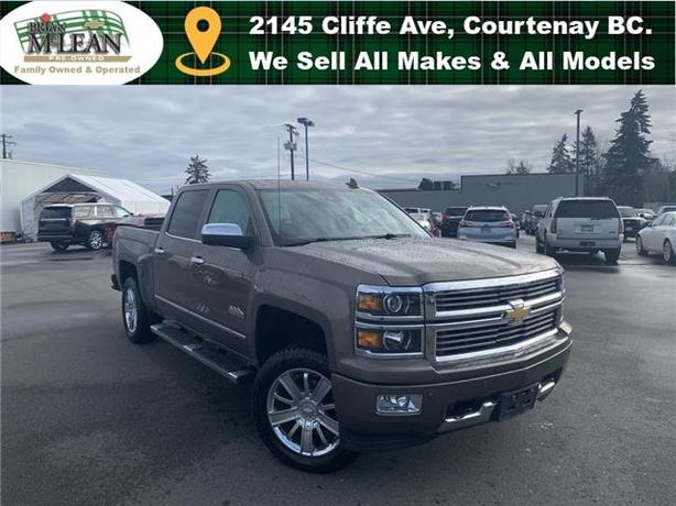 2015 Chevrolet Silverado 1500 High Country 4x4 Crew Cab 5.75 ft. box