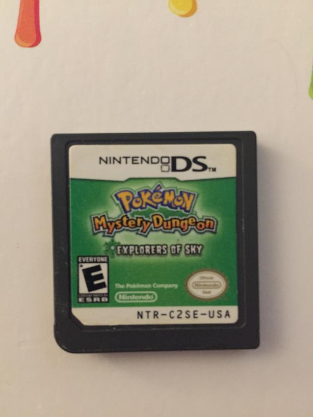 Pokemon Mystery Dungeons - Explorers of Sky for Nintendo Ds