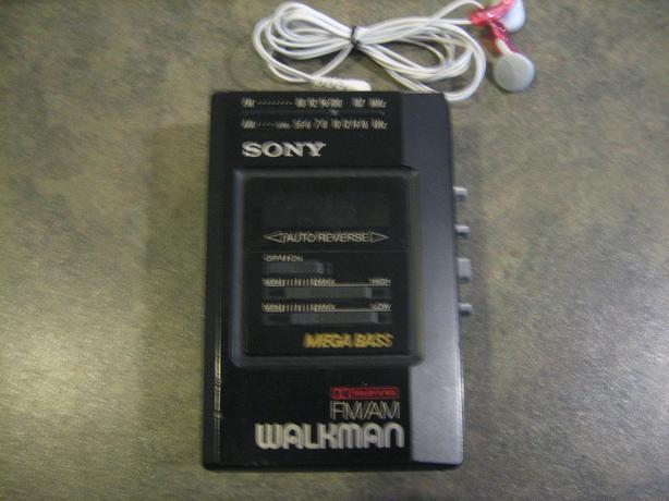 Rare Sony Walkman Radio Cassette Player WM-AF57/B57