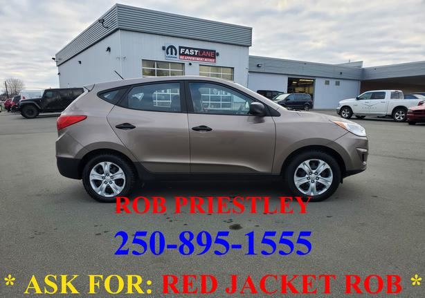 2010 HYUNDAI TUCSON GL * ask for RED JACKET ROB *