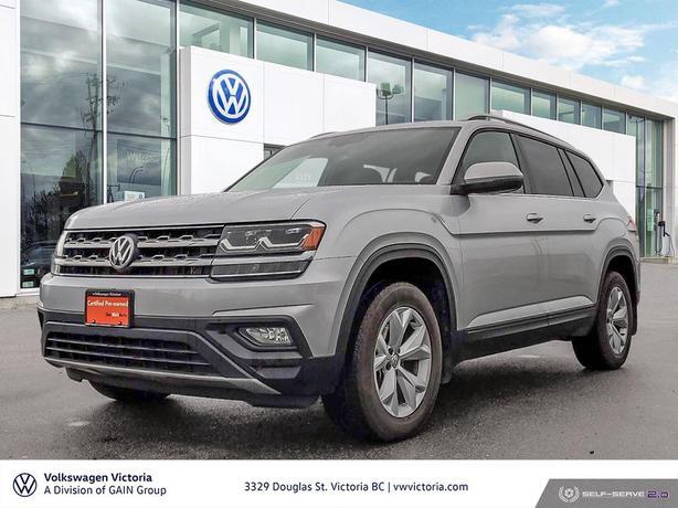2018 Volkswagen Atlas Comfortline 3.6L 8sp