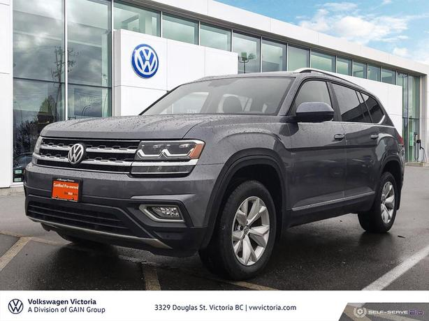 2018 Volkswagen Atlas Highline 3.6L 8sp