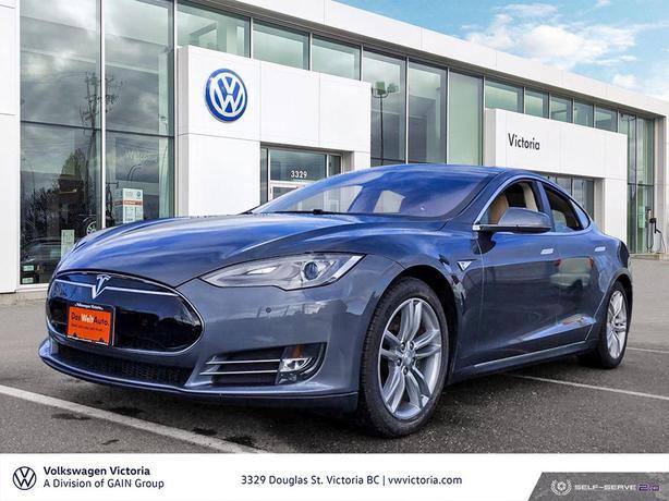 2013 Tesla Model S Rear Wheel Drive