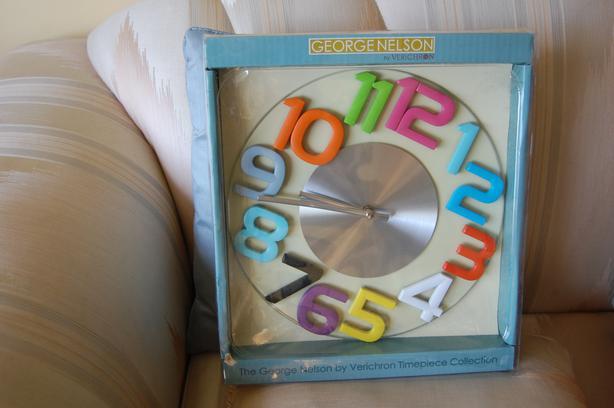 George Nelson Replica Clock - Reduced Price