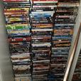Around 250 DVDs