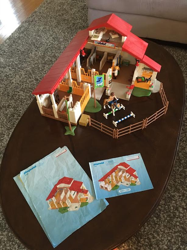 Playmobil Horse Barn & Expansion set