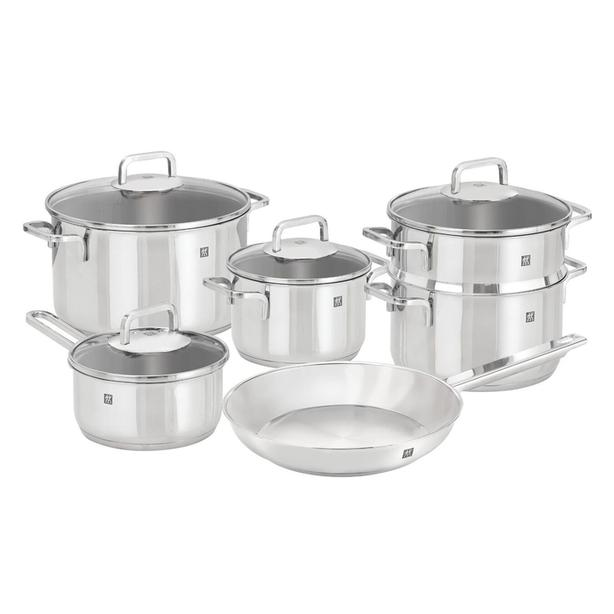 【Brand new】 ZWILLING Stainless Steel Cookware Set