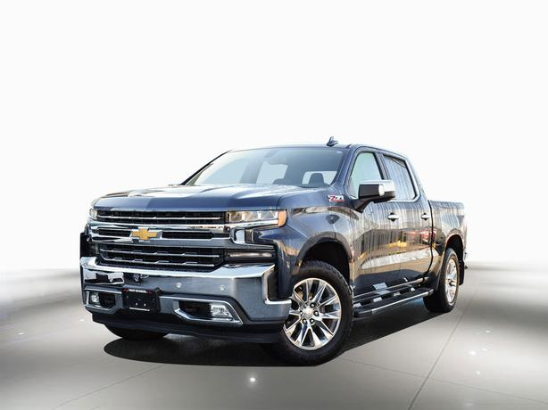 2019 Chevrolet Silverado 1500 LTZ, Z71 - Leather, Sunroof, 1 owner, No accidents