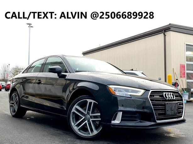 2018 Audi A3 Technik FULLY LOADED LOW KMS NO ACCIDENTS