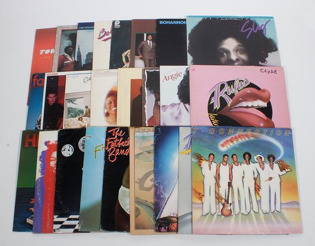 Lot of (25) LP Records Soul Disco Funk R&B