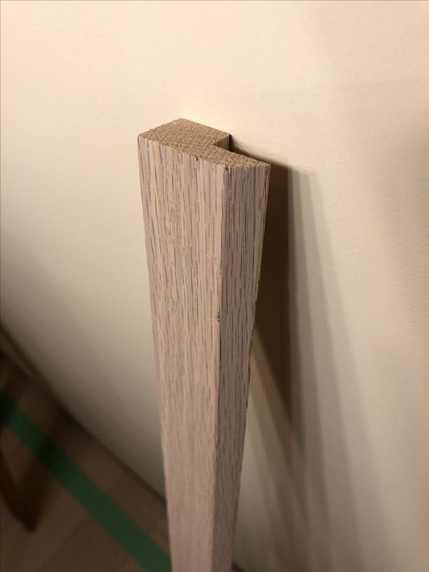 """Oak Transition Strip - 39 1/2"""" (maybe 40"""" I was tired)"""