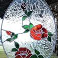 Beautiful Stained Glass Roses