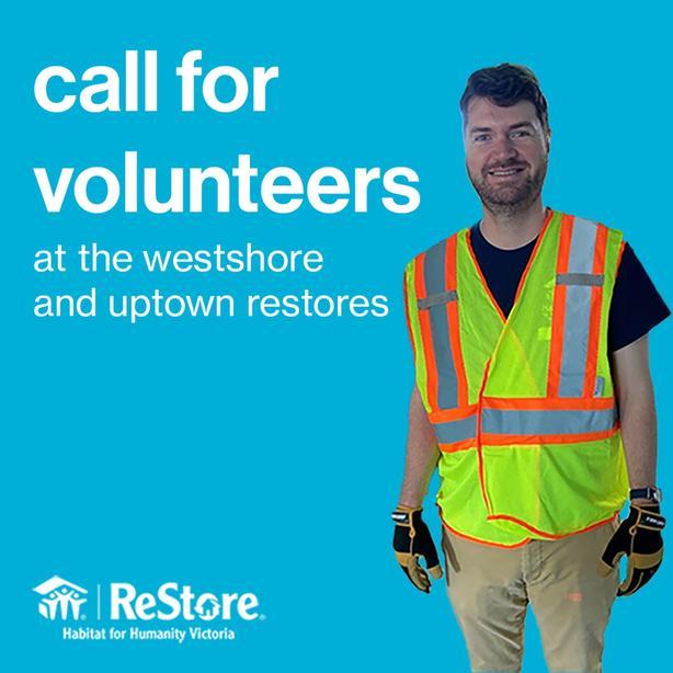 Volunteer at the Westshore or Uptown ReStore!