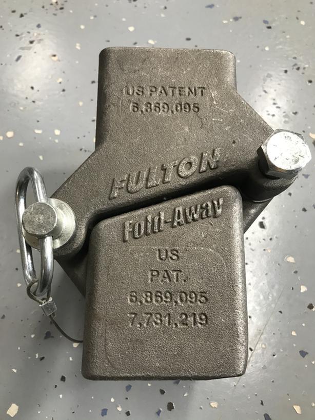 Fulton swing away trailer hitch
