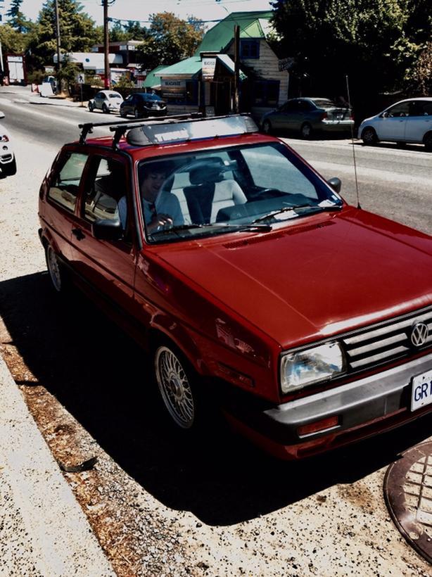 1993 VW Mk2 Golf with bbs rims