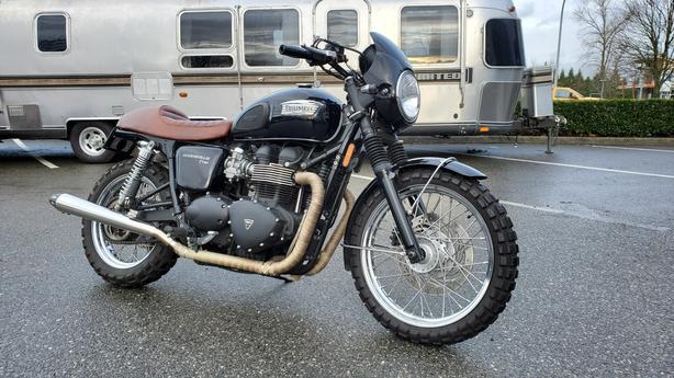 2013 Triumph BONNEVILLE T100 BLACK