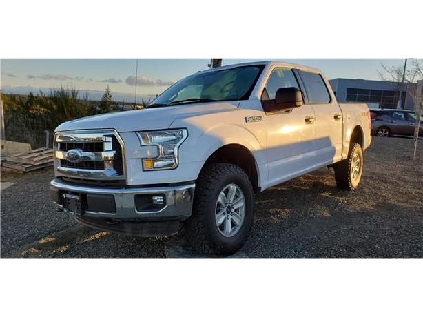 2016 Ford F-150 XLT 4x4 SuperCrew Cab Styleside 5.5 ft. box