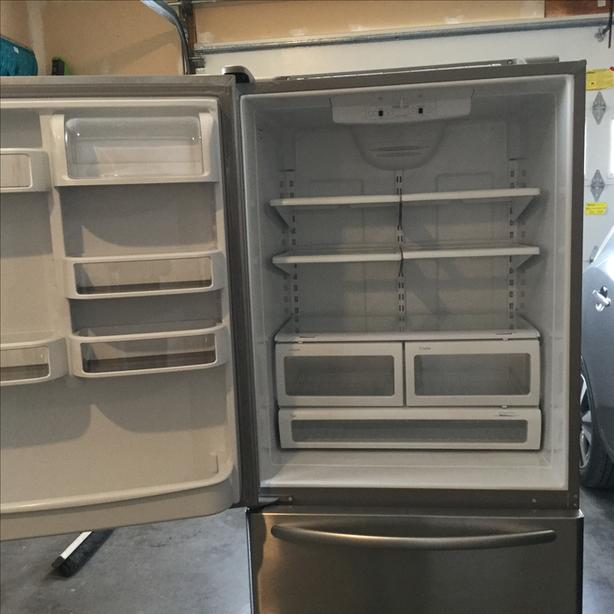 Kitchenaid 22 cu ft refrigerator  Reduced  $400 or best offer