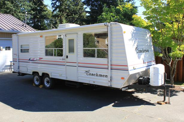 24 Foot Travel Trailer for rent