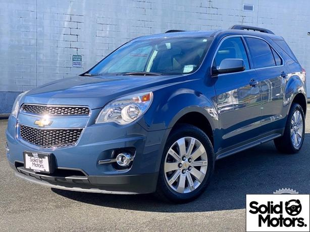 2011 Chevrolet Equinox AWD Back-up Cam Leather