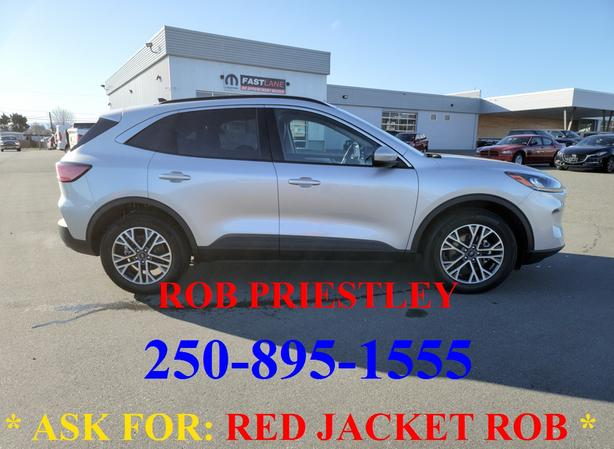 2020 FORD ESCAPE SEL AWD * ask for RED JACKET ROB *
